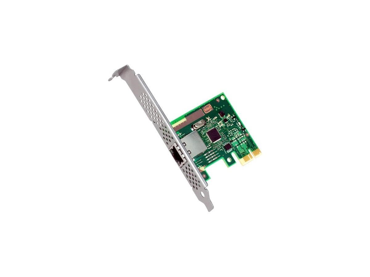 Intel Ethernet Server Adapter I210 - PCI Express x1 - 1 Port(s) - 1 x Network (RJ-45) - Twisted Pair - Low-profile, Full-height - Retail-Large-Image-1