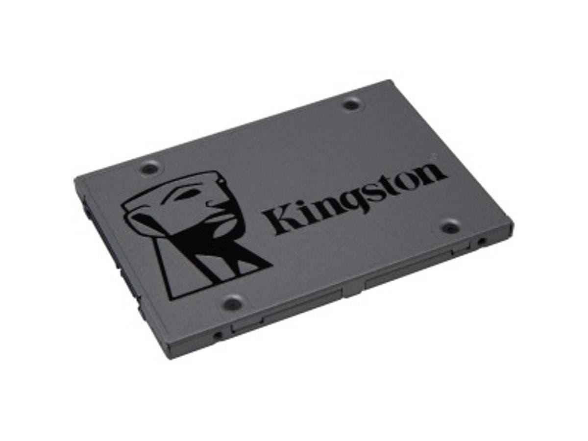 "Kingston UV500 120 GB Solid State Drive - SATA (SATA/600) - 2.5"" Drive - Internal - 520 MB/s Maximum Read Transfer Rate - 320 MB/s Maximum Write Transfer Rate - 256-bit Encryption Standard 2.5IN -Large-Image-1"