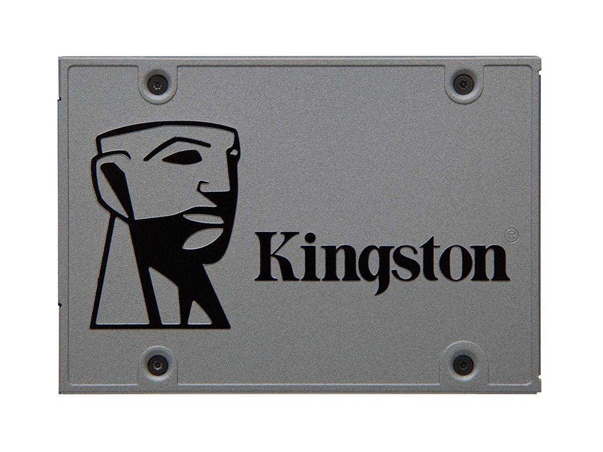 "Kingston UV500 480 GB Solid State Drive - SATA (SATA/600) - 2.5"" Drive - Internal - 520 MB/s Maximum Read Transfer Rate - 500 MB/s Maximum - SUV500B/480G-Large-Image-1"
