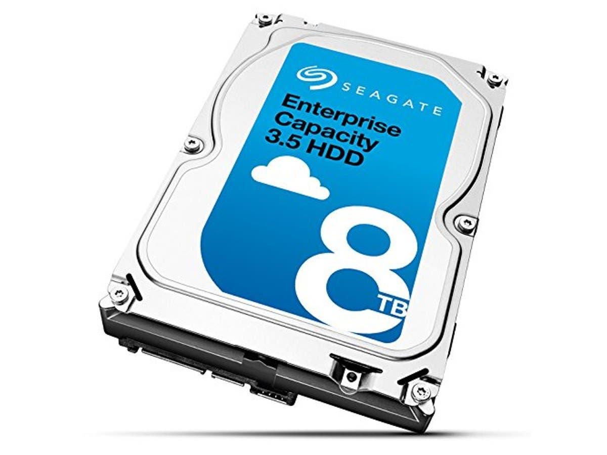 "Seagate ST8000NM0085 8 TB 3.5"" Internal Hard Drive - SAS - 7200rpm - 256 MB Buffer-Large-Image-1"