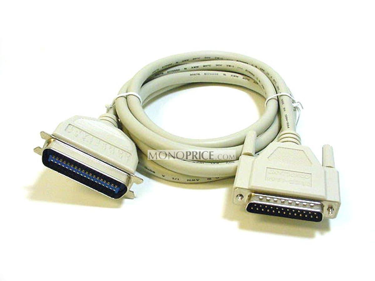 Monoprice IEEE 1284 , DB25M/CN36M , 18PR. - 25ft-Large-Image-1