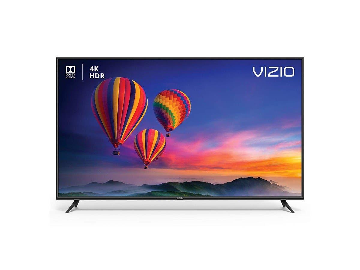 """VIZIO SmartCast E E65-F1 64.5"""" 2160p LED-LCD TV - 16:9 - 4K UHDTV - Black - 178° / 178° - 3840 x 2160 - Virtual Surround, DTS Studio Sound II - 20 W RMS - Full Array LED Backlight-Large-Image-1"""