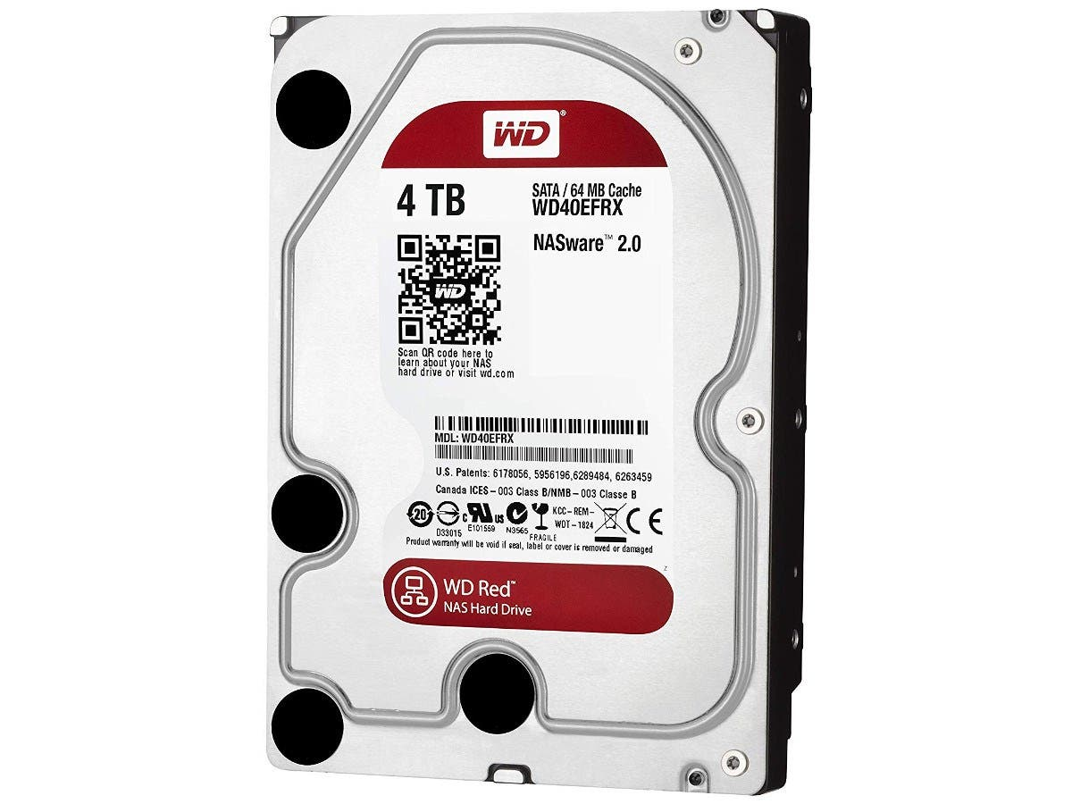 WD Red WD40EFRX 4TB 3534 NAS 5400RPM SATA 6GB S Internal Hard