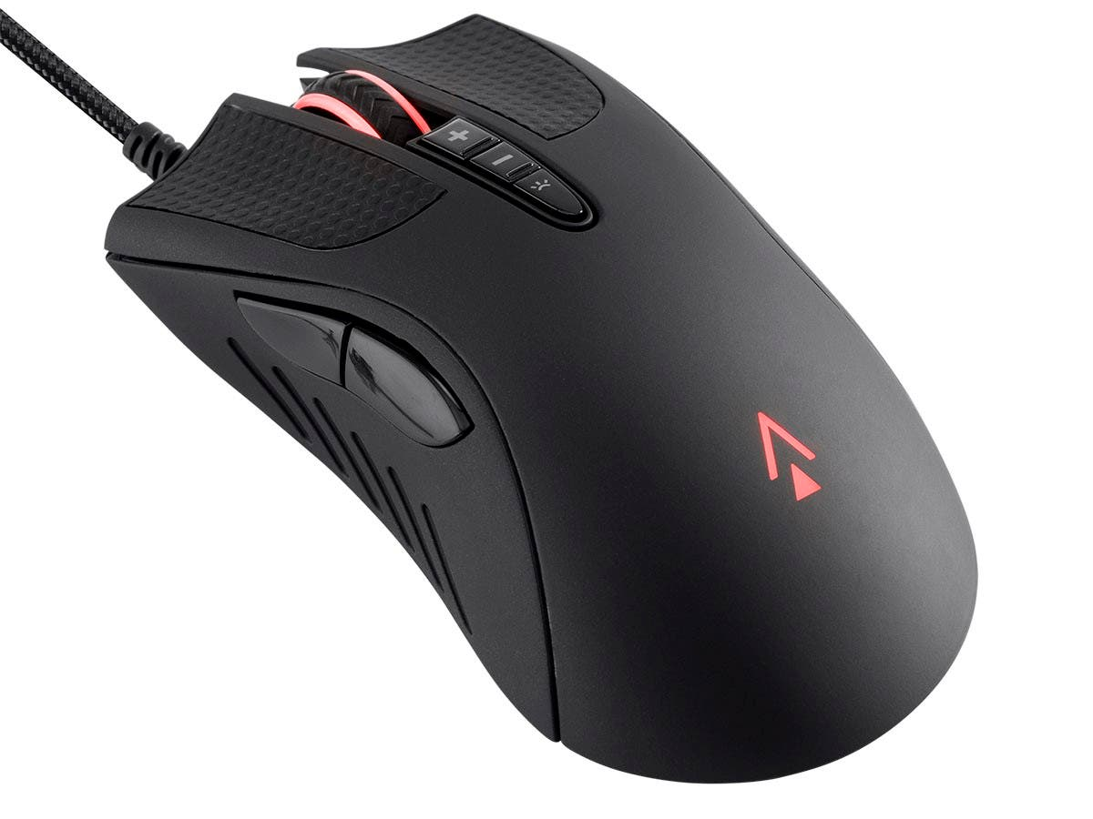 Dark Matter by Monoprice Aether Optical Gaming Mouse - 16000DPI, PixArt PMW 3389, Light Strike, RGB, Wired - main image