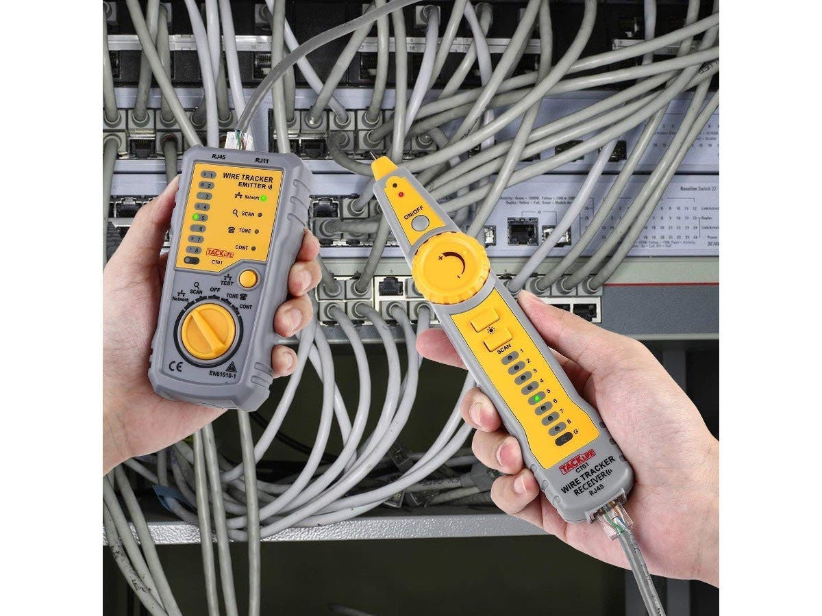 Astonishing Wire Tracker Tacklife Ct01 Cable Toner Rj11 Rj45 Wire Tracer Wiring Digital Resources Dylitashwinbiharinl