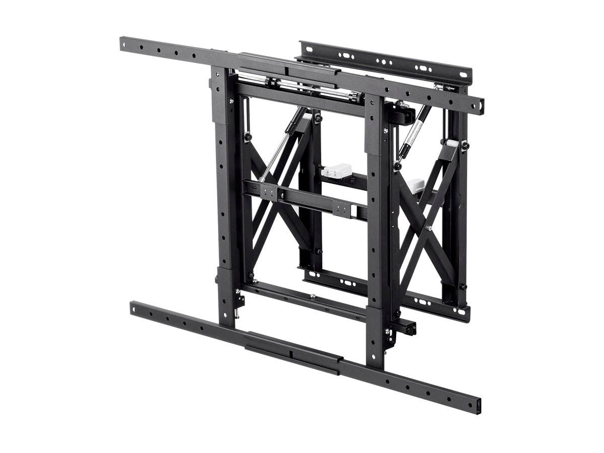 Monoprice Entegrade Series Modular Video Wall System Bracket with Push-to-Pop-Out - For TVs 40in to 70in, Max Weight 110lbs, VESA Patterns Up to 900x600, Security Brackets, UL Certified (Open Box)-Large-Image-1