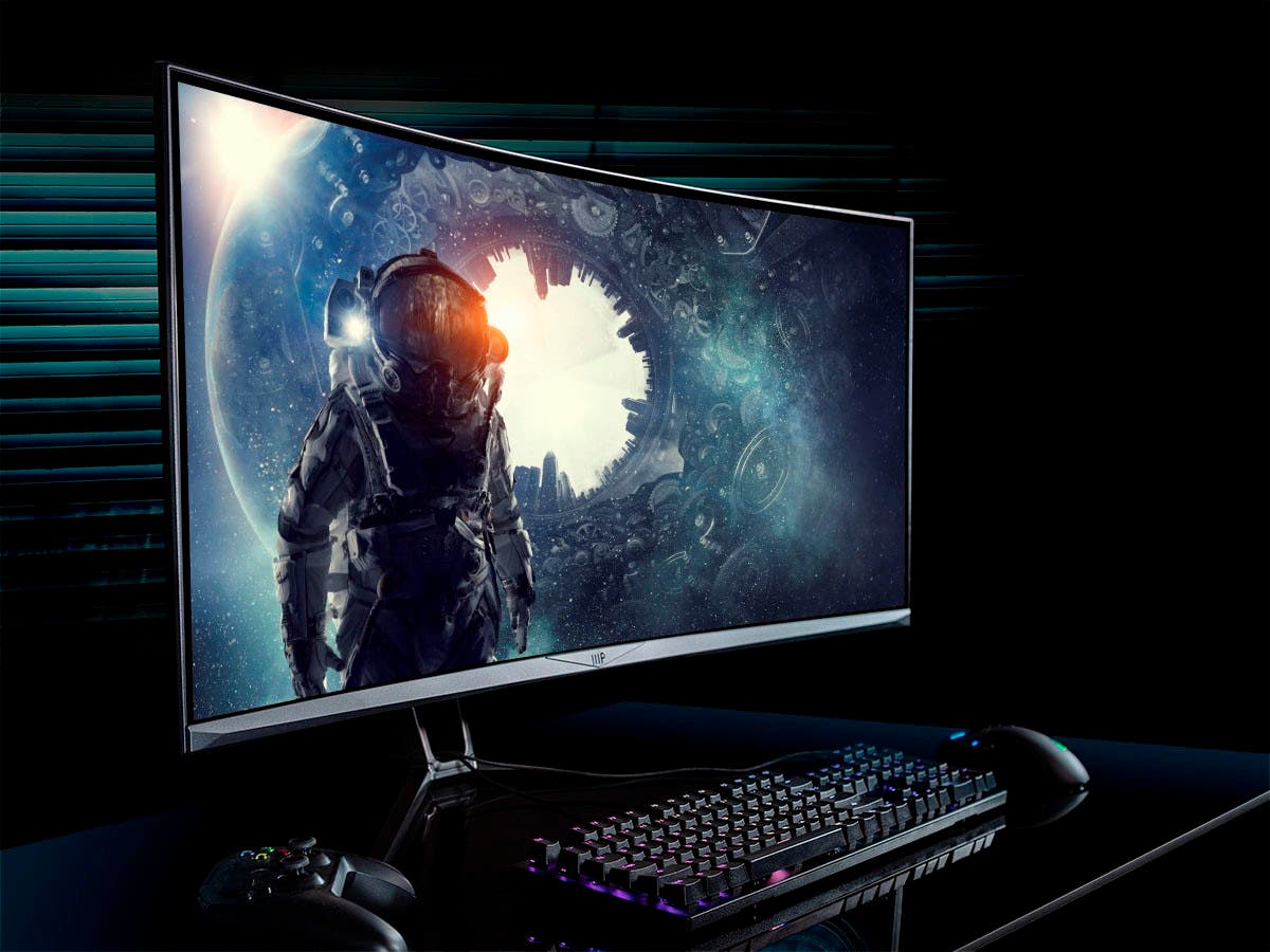 Monoprice 35in Zero-G Curved Gaming Monitor – 3440x1440p