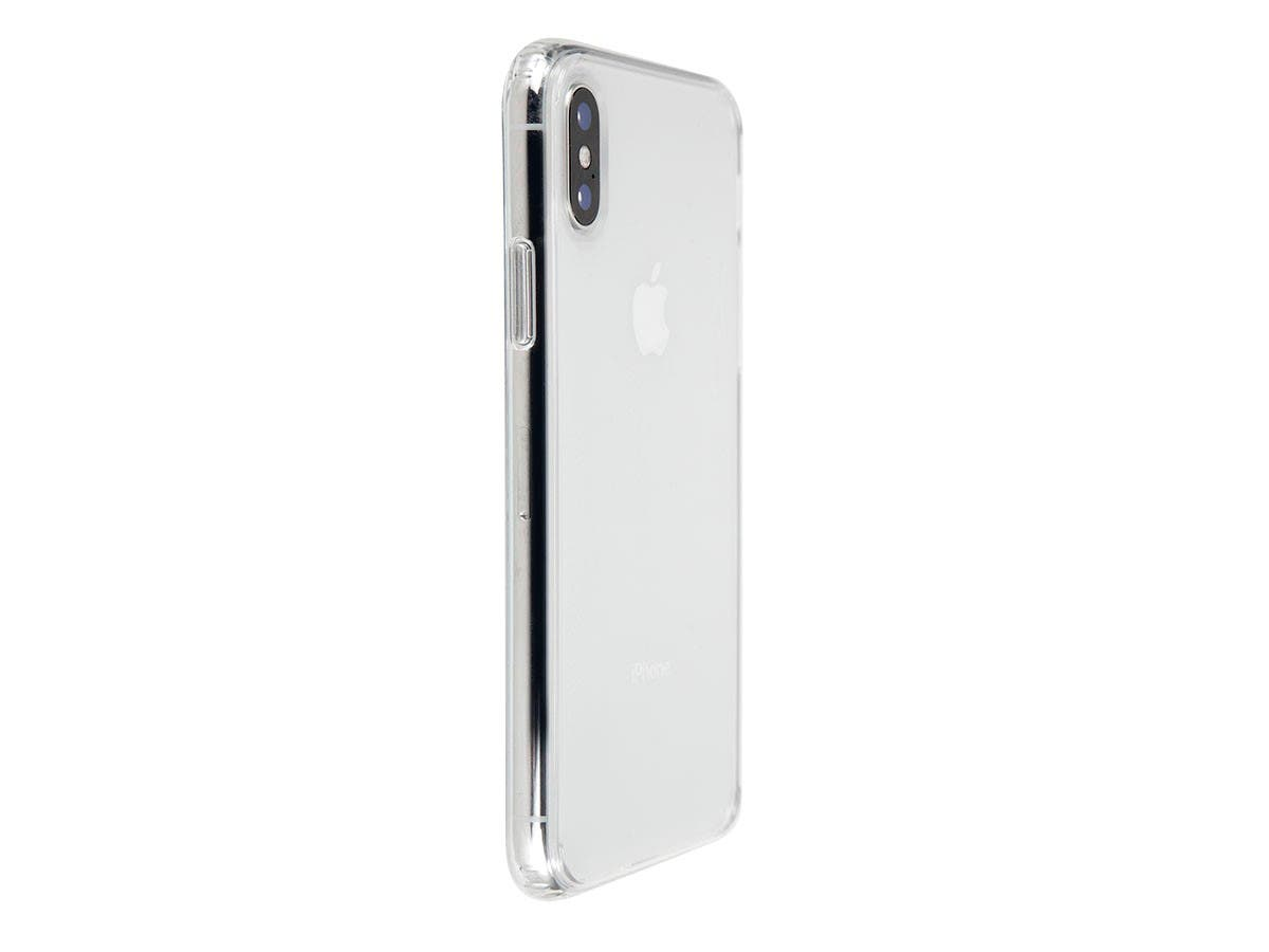 FORM by Monoprice iPhone XS Slim Protective Case - MIL-SPEC Drop Tested Up to 6ft, Clear-Large-Image-1