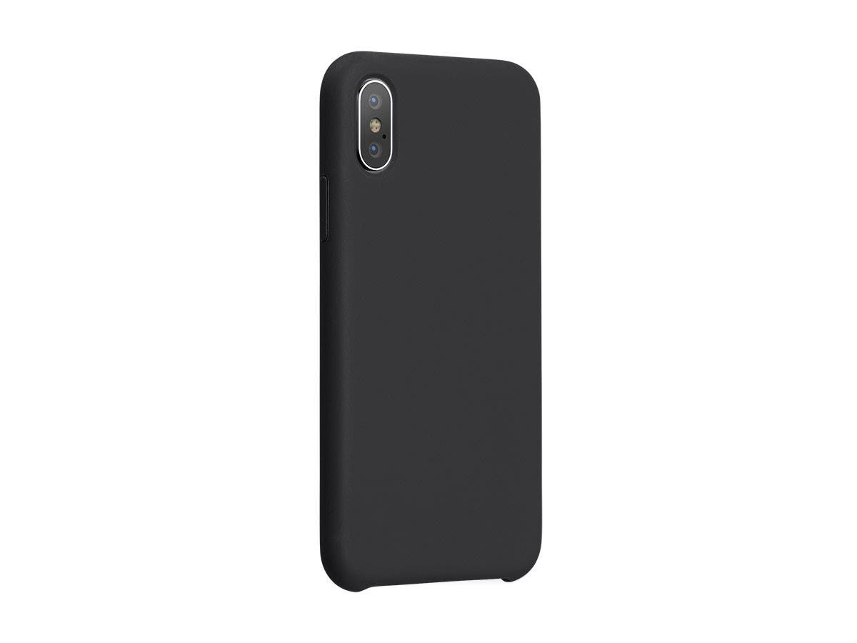 FORM by Monoprice iPhone XS Soft Touch Case, Black-Large-Image-1
