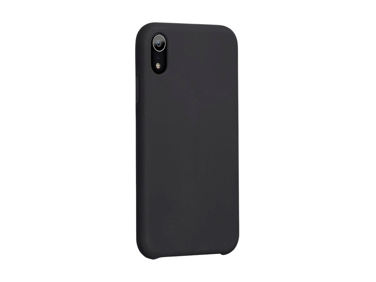 FORM by Monoprice iPhone XR Soft Touch Case, Black-Large-Image-1