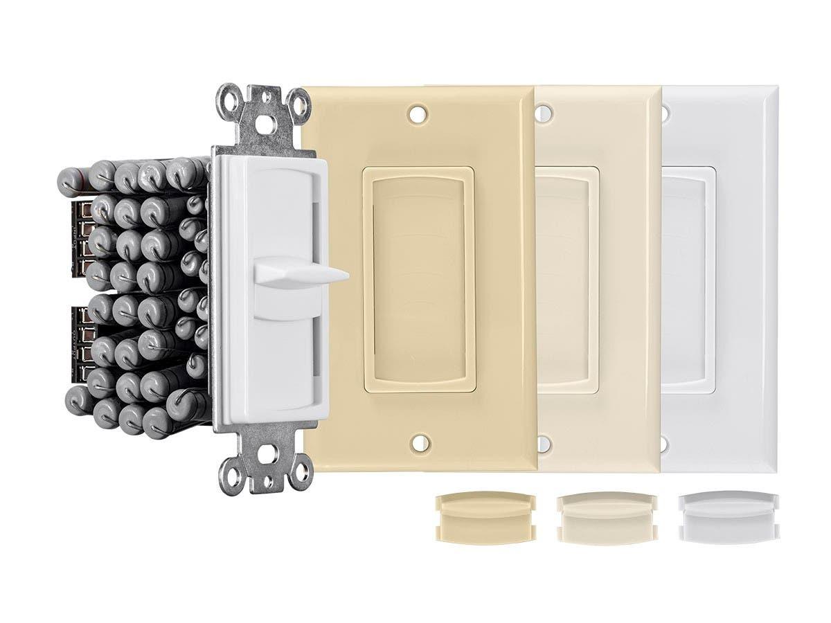 Monoprice 50-Watt Impedance Matching Slider Speaker Volume