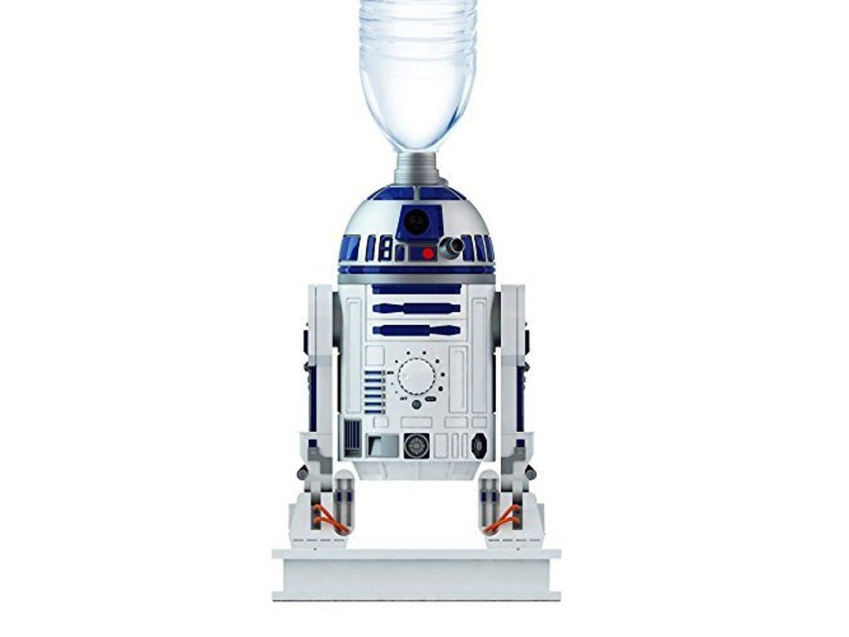 "Star Wars R2D2 Ultrasonic Cool Mist Personal Humidifier, 5.5"" mini office and home gadget-Large-Image-1"