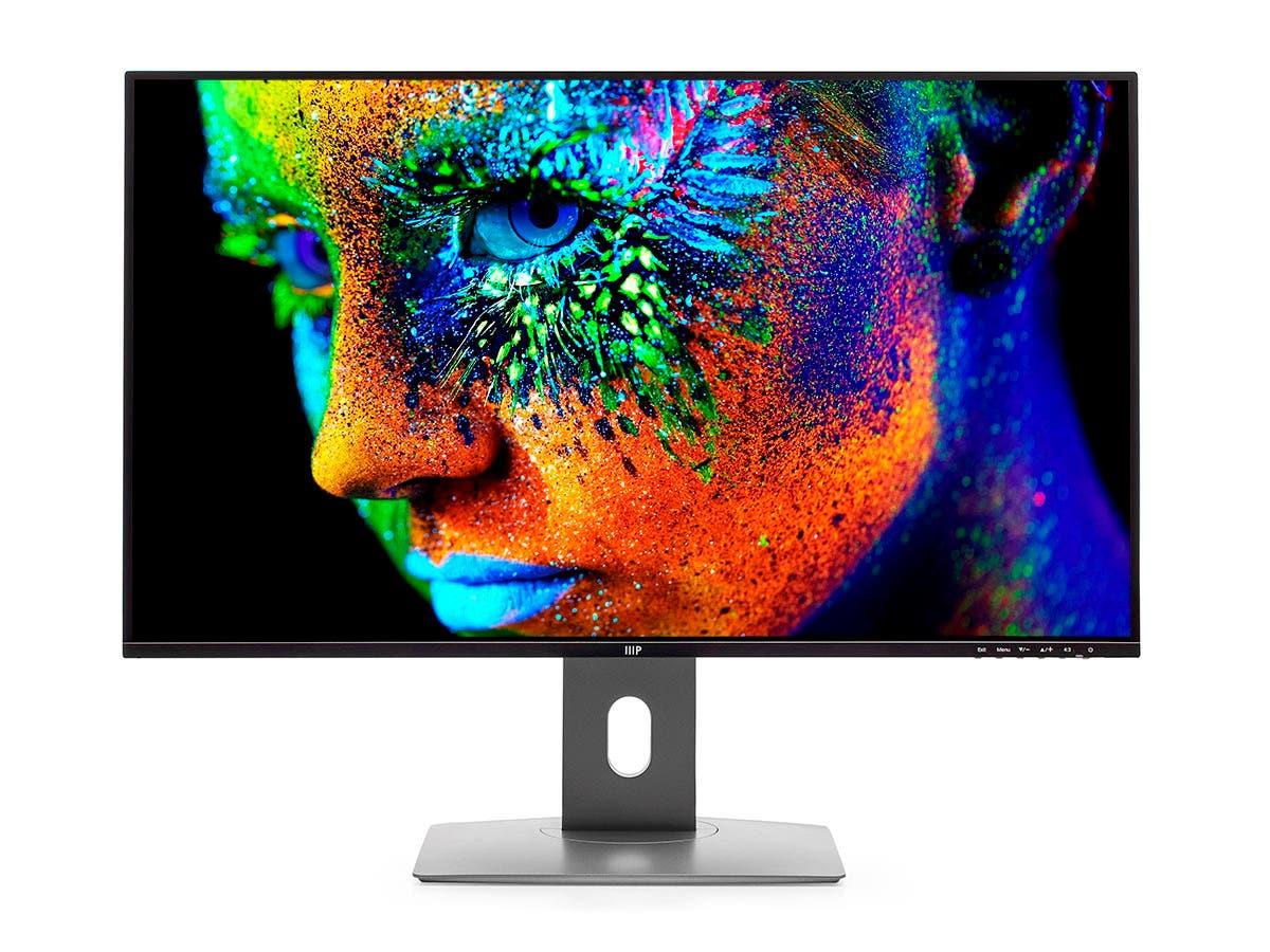 Monoprice 32in Vivid Monitor - 4K UHD, 60Hz, HDR400, IPS-Large-Image-1