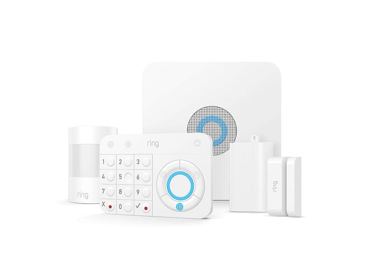 Ring Alarm – Home Security System with optional 24/7 Professional Monitoring No contracts 5 piece kit – Works with Alexa-Large-Image-1