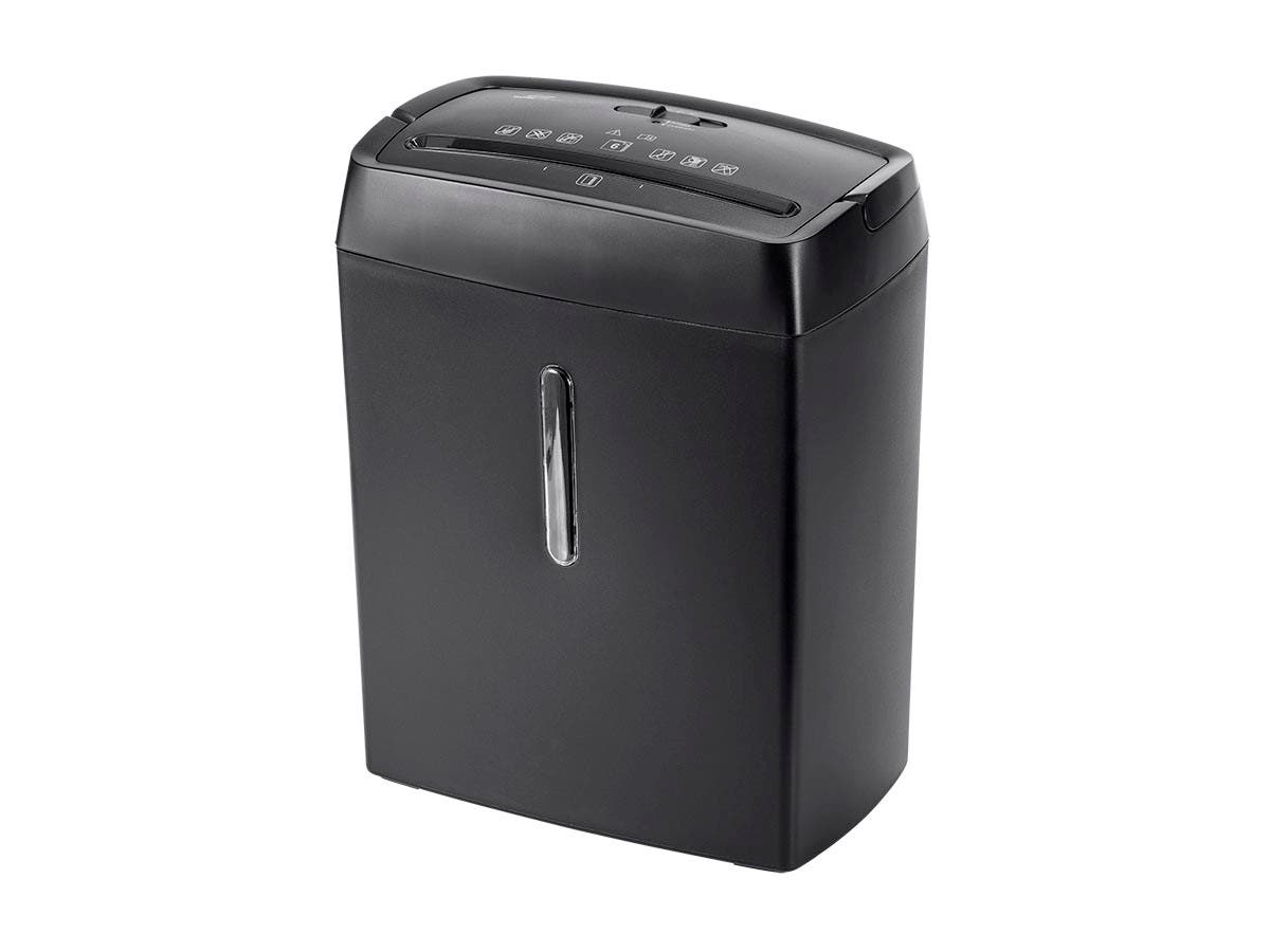 Workstream by Monoprice 6-Sheet Crosscut Paper and Credit Card Shredder (138764) photo