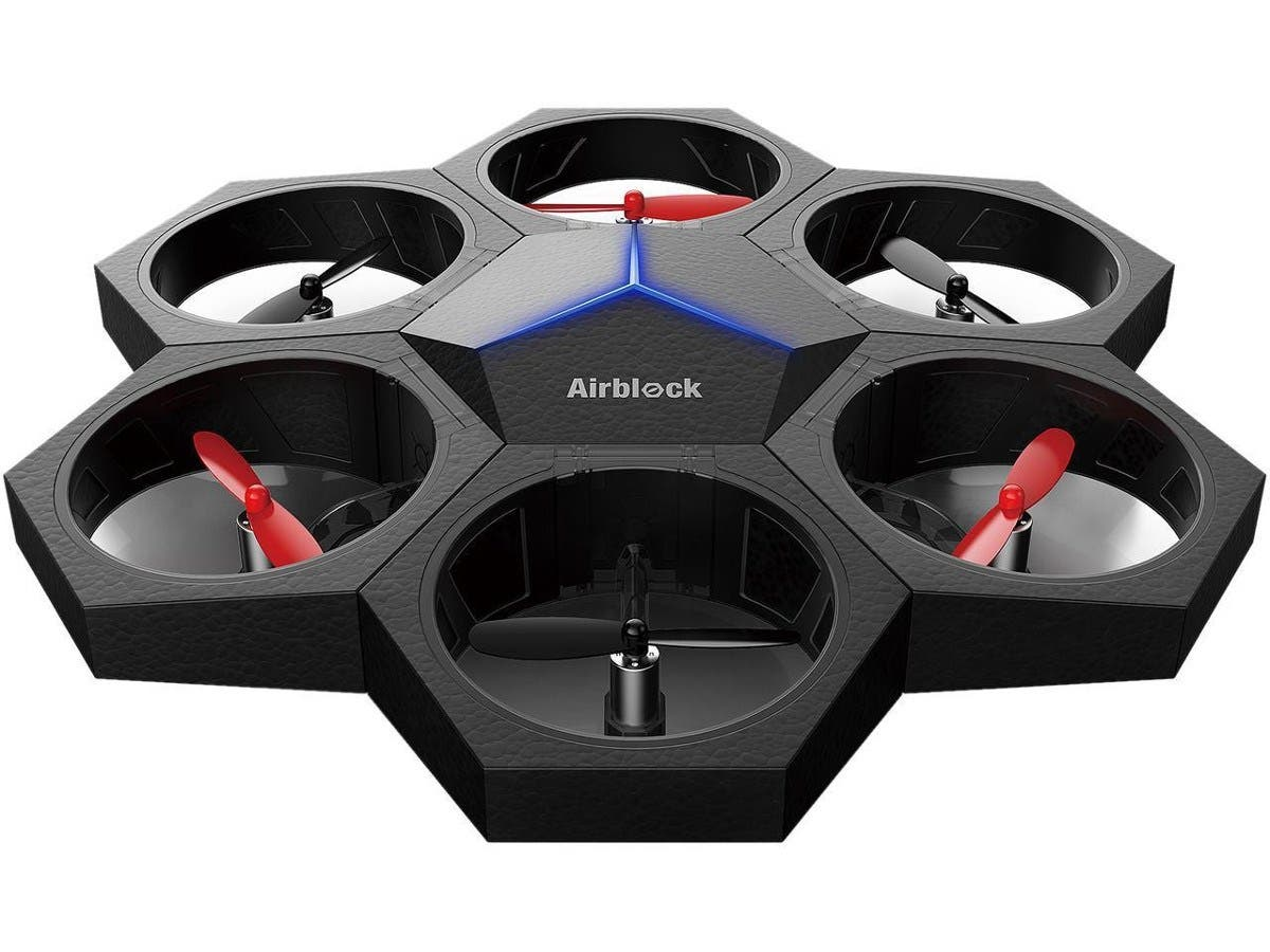 Makeblock MAK-99808 Toy Airblock Indoor Programmable Drone & Hovercraft Modular Propellers-Large-Image-1