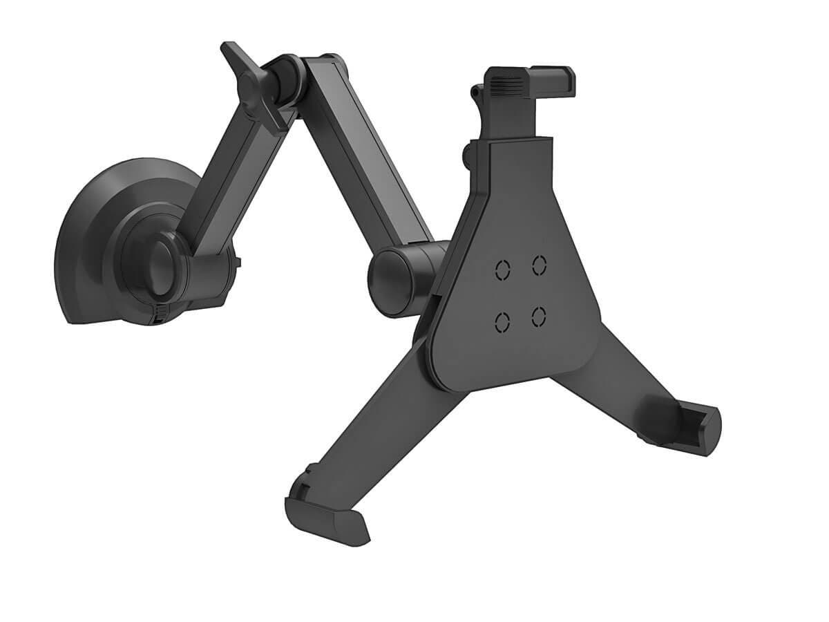 Monoprice Under Cabinet Full-Motion Articulating Tablet Mount For Tablets 8.9in to 10.4in, Rotating (Open Box)-Large-Image-1