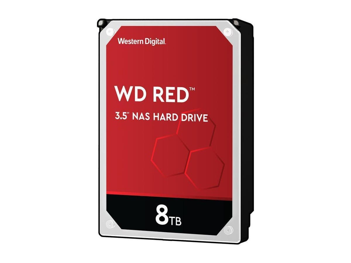 WD Red 8TB NAS Hard Disk Drive - 5400 RPM Class SATA 6Gb/s 256MB Cache 3.5 Inch - WD80EFAX -Large-Image-1