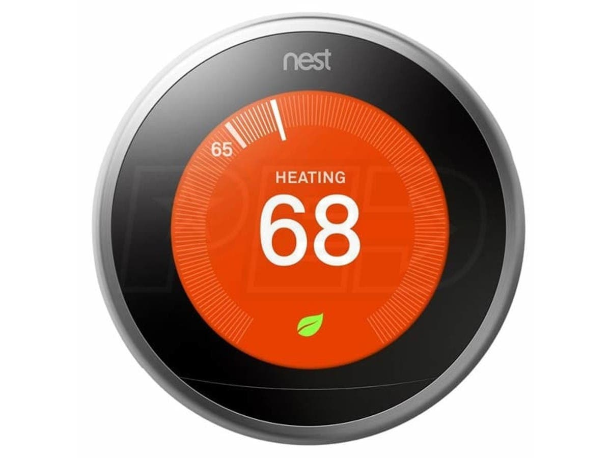 Nest Learning Thermostat T3008US Nest Pro 3rd Gen Satin Nickel -Large-Image-1