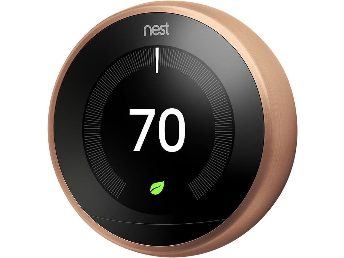 Nest Learning Thermostat - 3rd Generation, Copper - T3021US-Large-Image-1