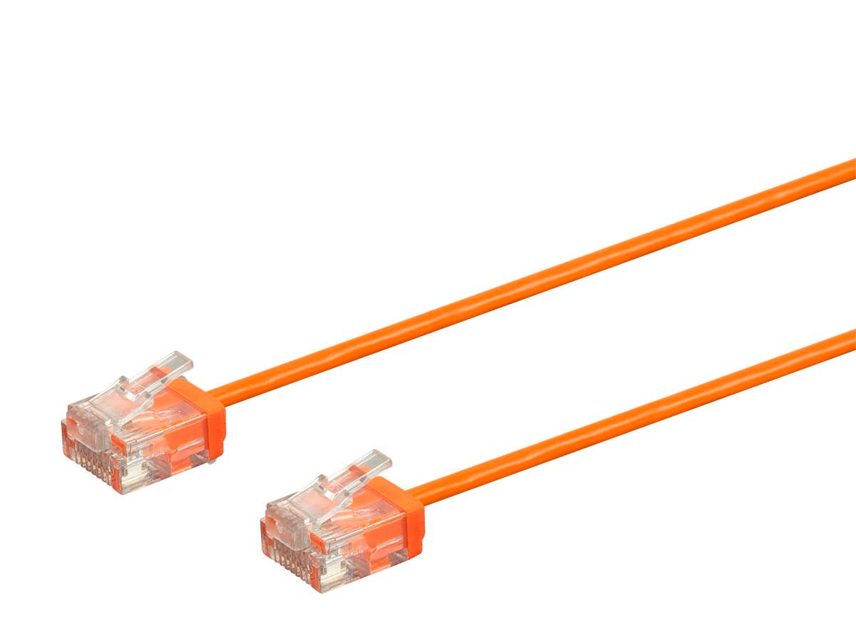 Orange 50FT Cat6 550MHz UTP Ethernet Network Cable