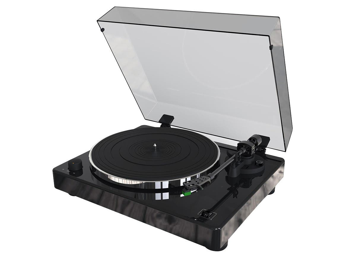 Monolith by Monoprice Turntable with Audio-Technica AT100E Cartridge (Open Box)-Large-Image-1