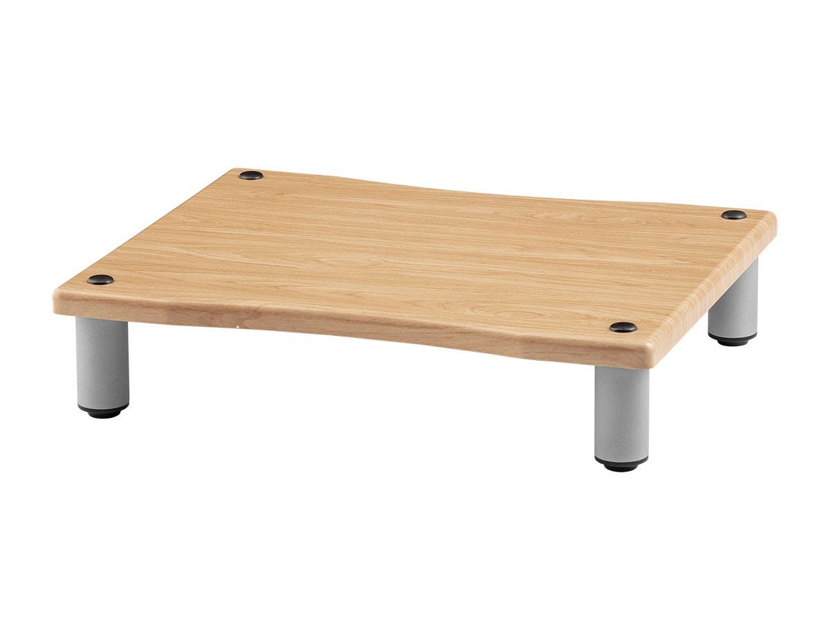 Monolith by Monoprice Amplifier/Component Stand XL, Maple - main image