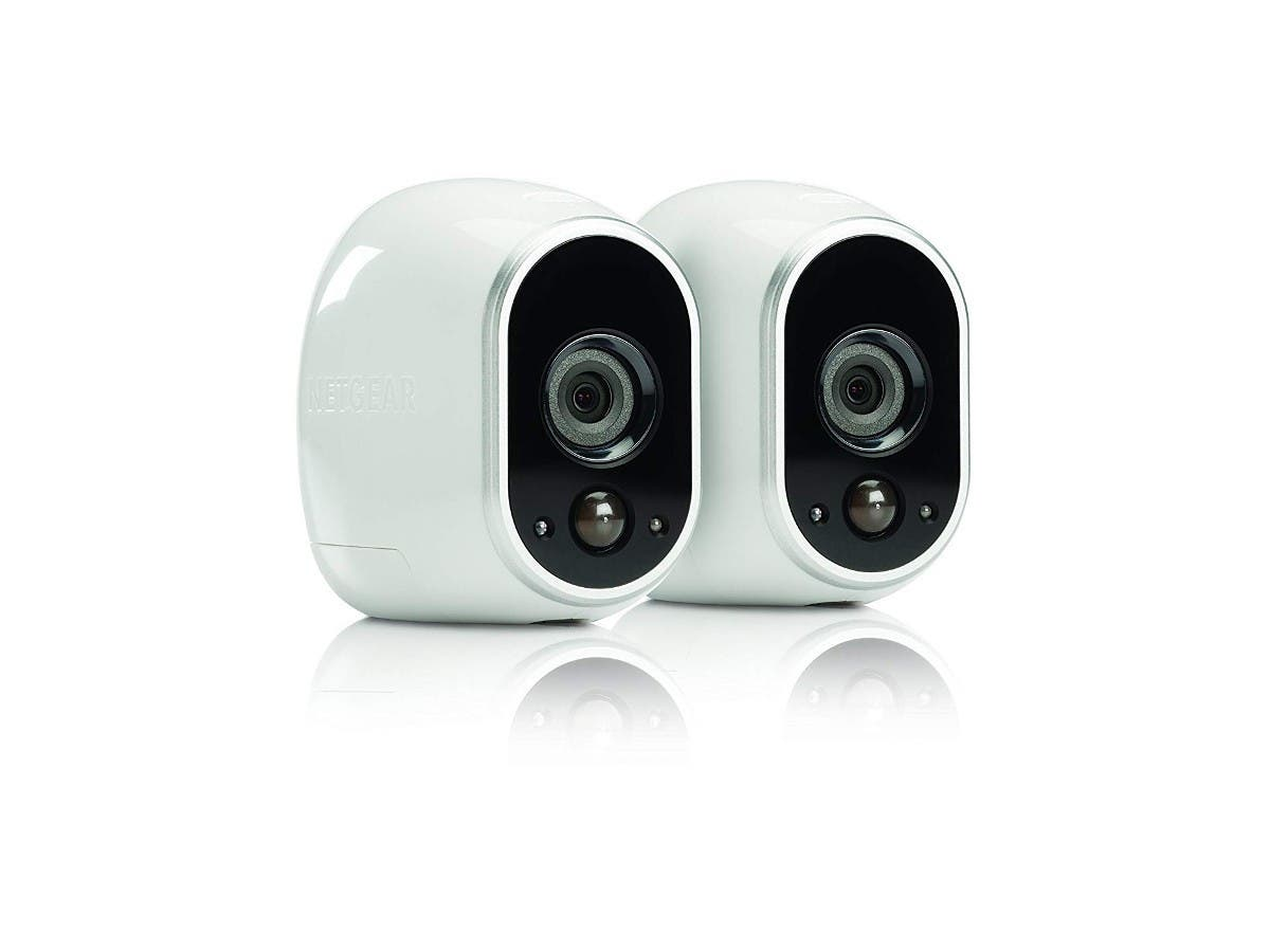 Arlo - Wireless Home Security Camera System | Indoor/Outdoor | 2 camera kit VMS3230-100NAS   -Large-Image-1