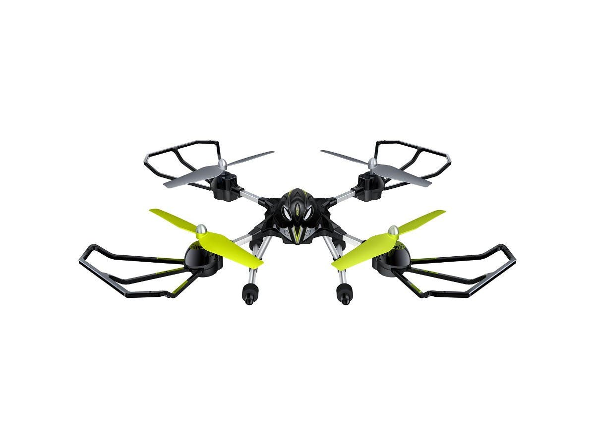 Black Sparrow Drone, Intelligent Fixed Altitude, Colorful LED, Headless Mode Quadcopter by Aukey-Large-Image-1
