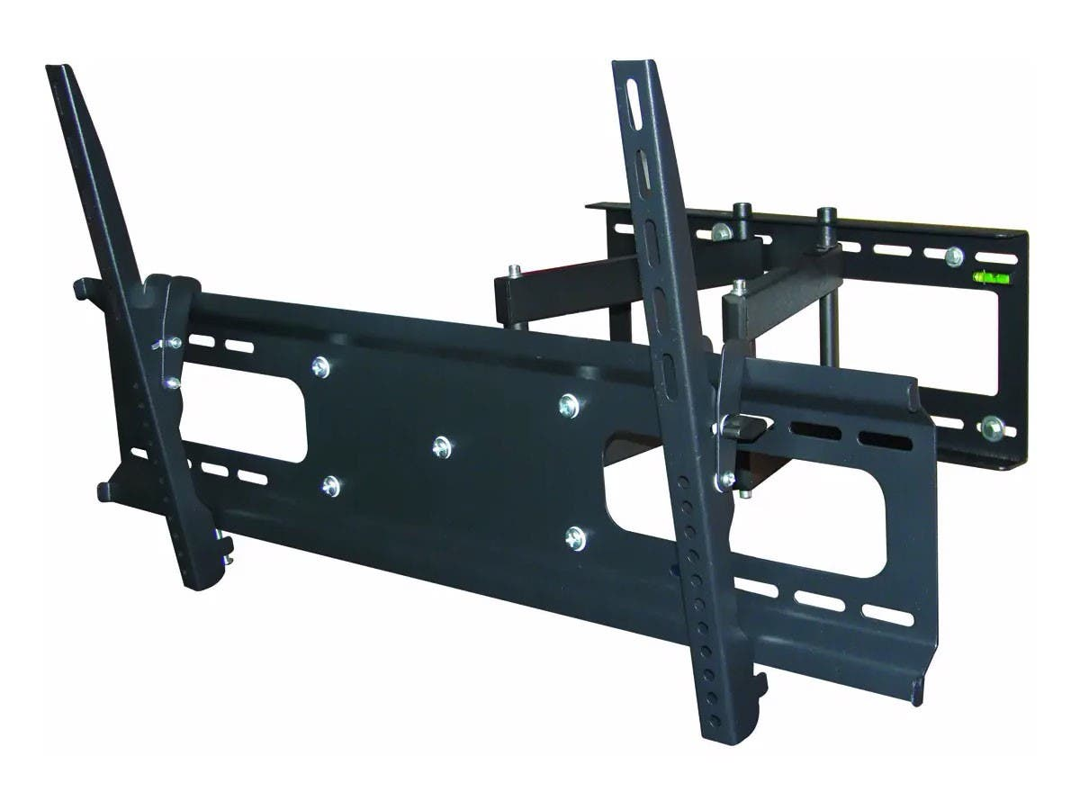 Monoprice Full-Motion Articulating TV Wall Mount Bracket For TVs 37in to 70in, Max Weight 132 lbs, Extension Range of 3.7in to 18.7in, VESA Patterns Up to 800x400 (OPEN BOX)-Large-Image-1