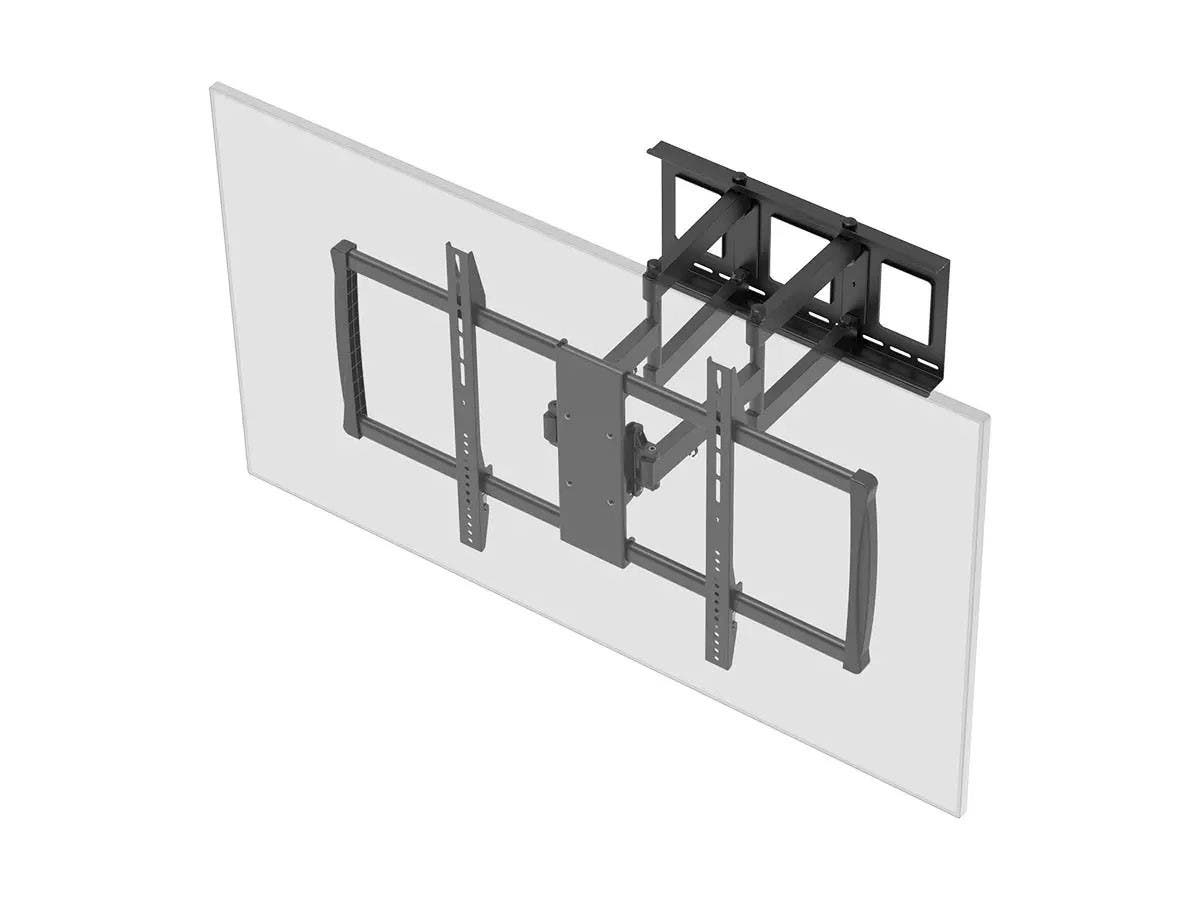 Monoprice Stable Series Full-Motion Articulating TV Wall Mount for TVs 60in to 100in, Max Weight 176 lbs, Extends from 2.8in to 24.6in, VESA Up to 900x600, Concrete & Brick, UL Certified (OPEN BOX)-Large-Image-1