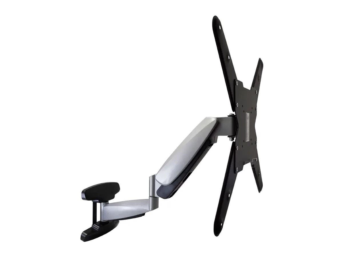 Monoprice Smooth Series Full-Motion Articulating TV Wall Mount Bracket For TVs 42in to 66in, Max Weight 66lbs, Extension Range of 2.3in to 23.4in, VESA Patterns Up to 400x400 (OPEN BOX)-Large-Image-1