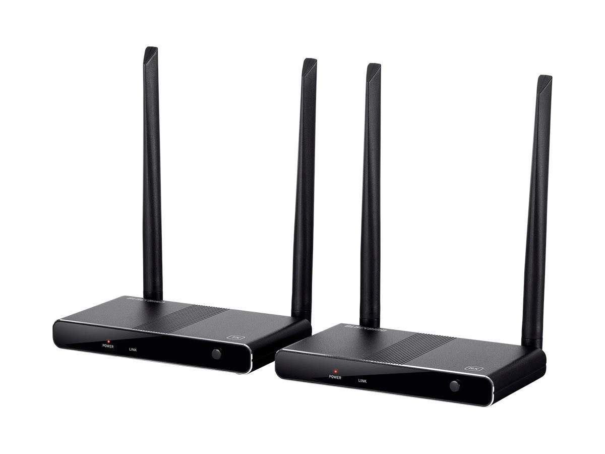Monoprice Blackbird HDMI Wireless Extender, Multicast with USB support (Open Box) - main image
