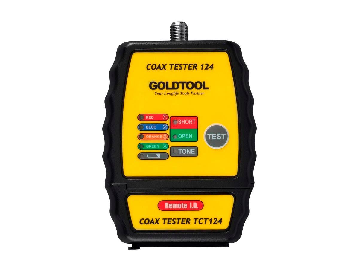 Coax Mapper/ID Finder/Toner with 4 Remote Terminators - main image