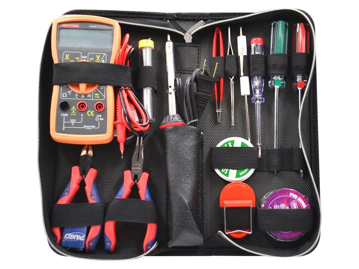 15-Piece Electrical Training Tool Kit - main image