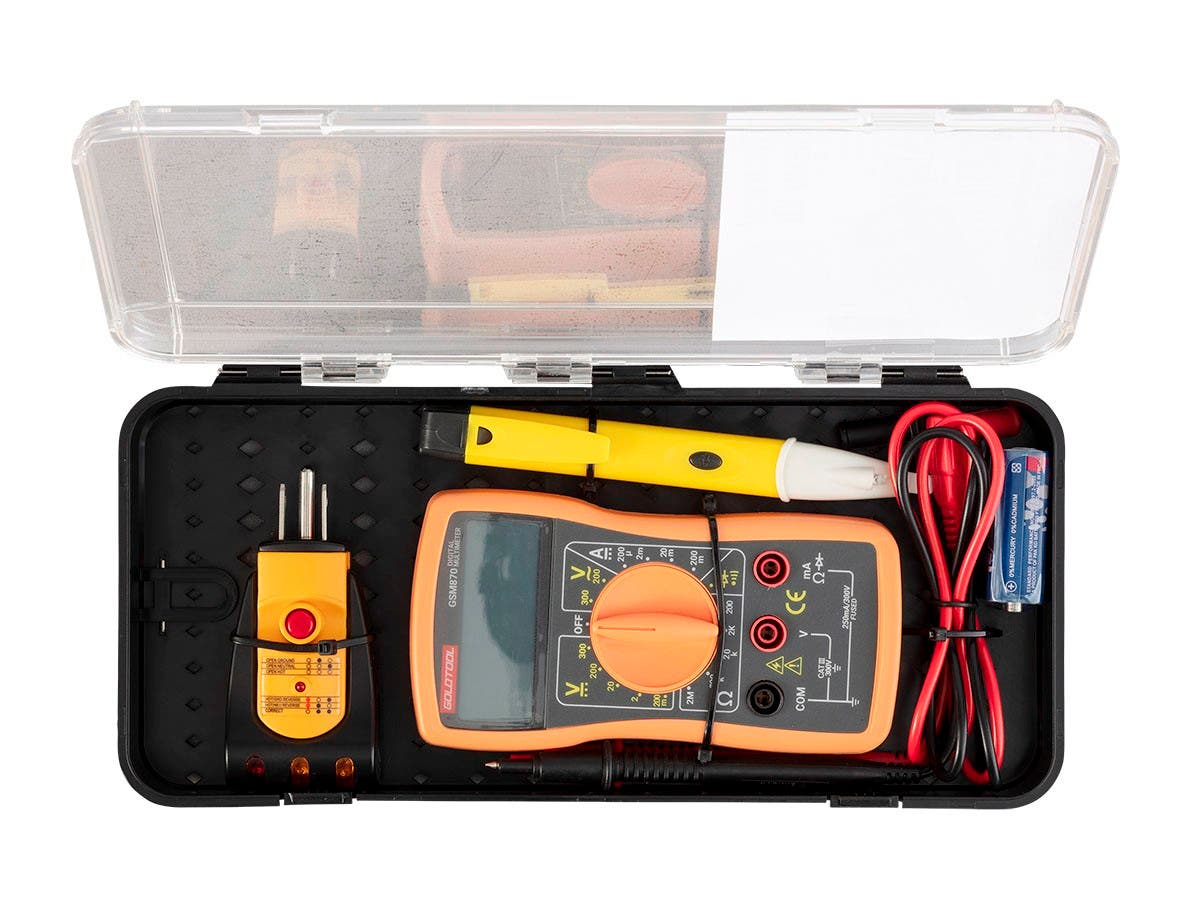 Monoprice Electrical Tester Kit - main image