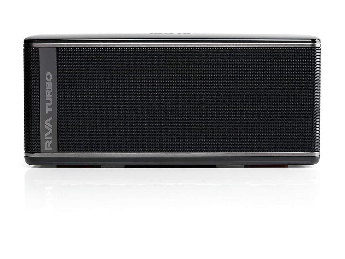 RIVA TURBO X RTX01B Premium Wireless Bluetooth Speaker - Black - RTX01B (refurbished)-Large-Image-1