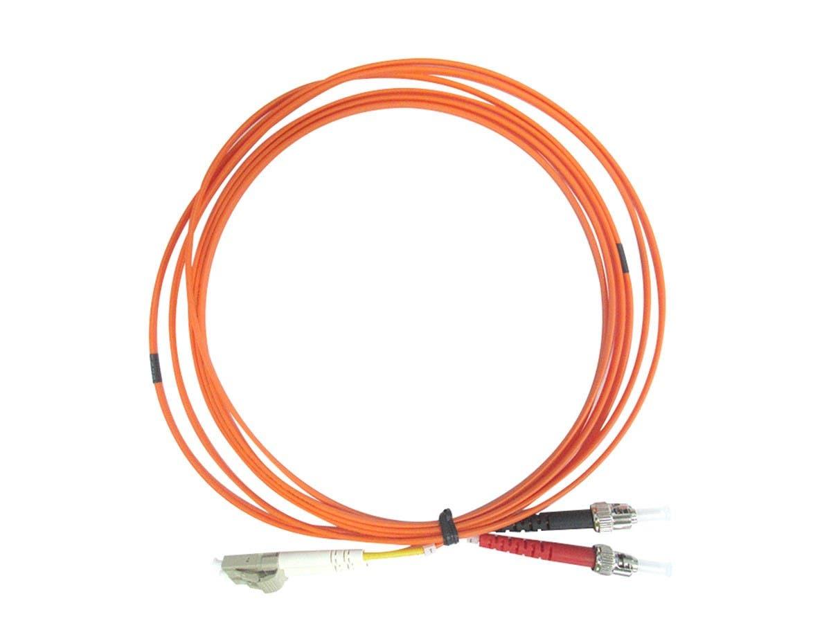 Monoprice OM3 Fiber Optic Cable PVC LC//UPC-LC//UPC Multi Mode 30M 50//125