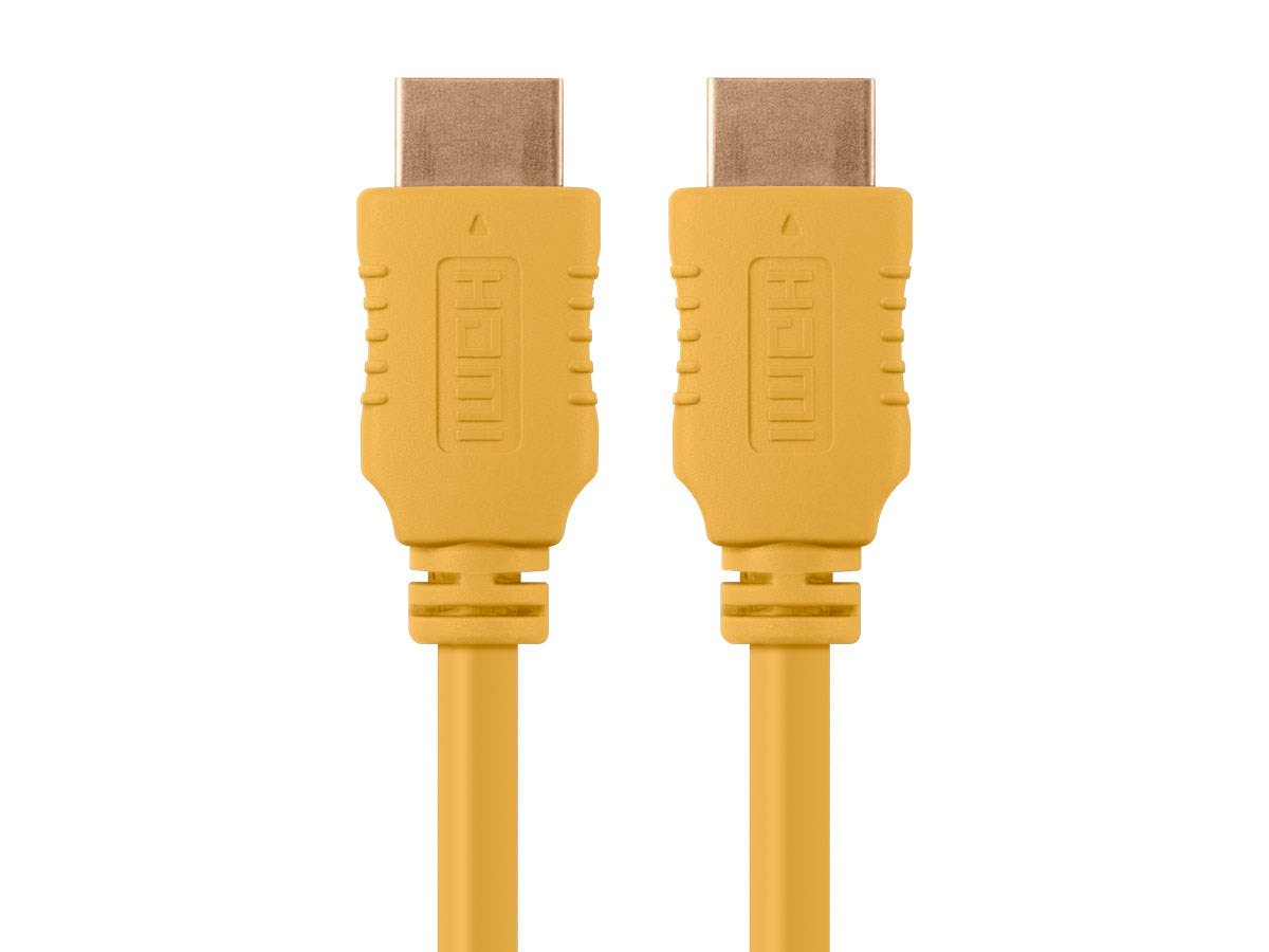 Select Series High Speed HDMI Cable, 10ft Yellow
