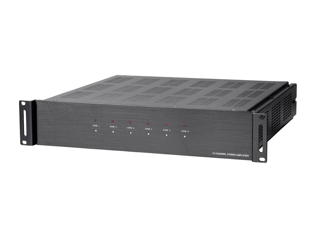Monoprice 6 Zone Home Audio Multizone 12-channel Amplifier
