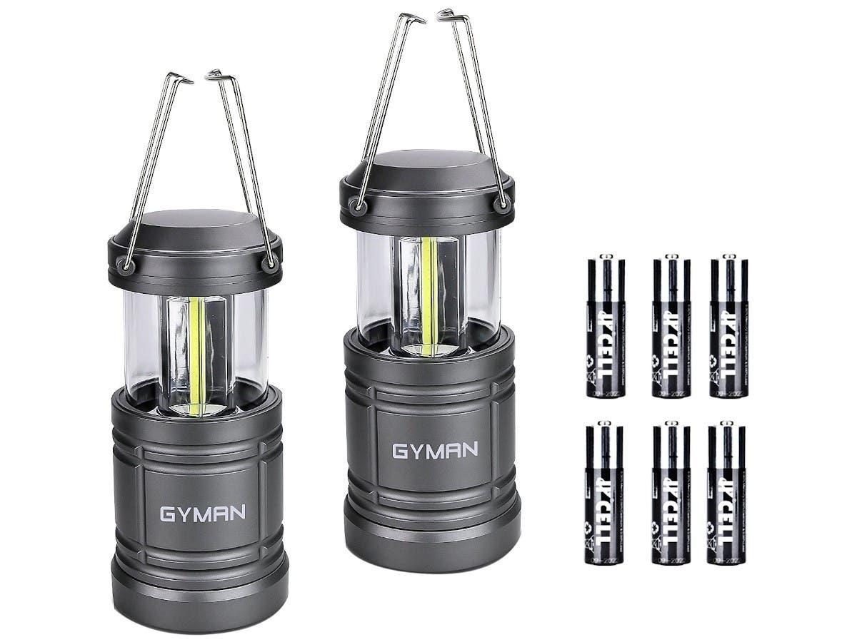 Lantern Battery LED Bright Tent Light Magnetic Flashlight Camping Lamp