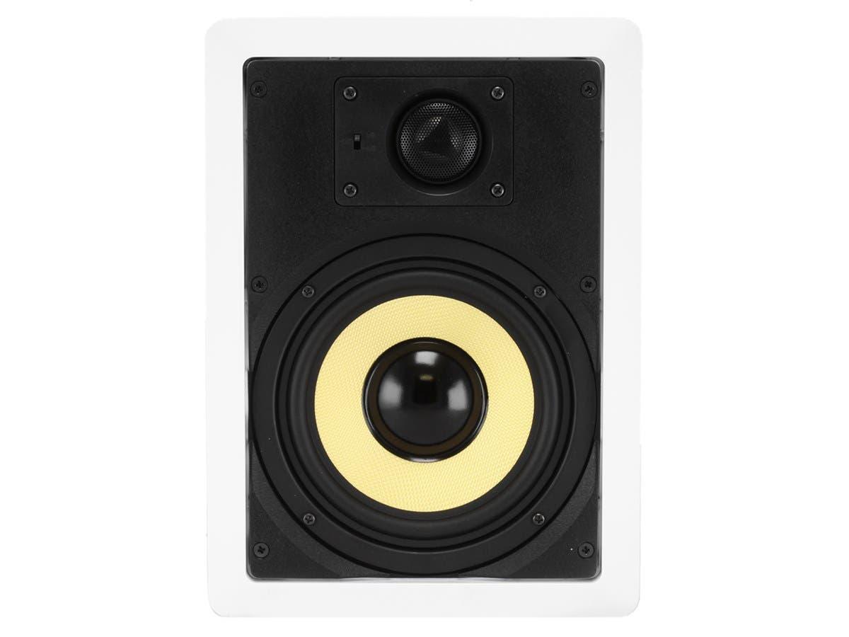 Monoprice Caliber In Wall Speakers 6 5in Fiber 2 Way Pair