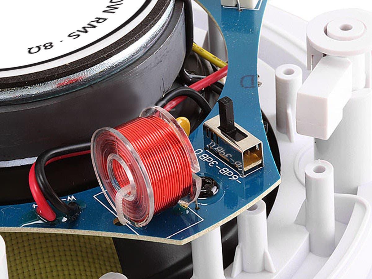 Monoprice Caliber In Ceiling Speakers 65in Fiber 2 Way Pair Wiring For Dummies