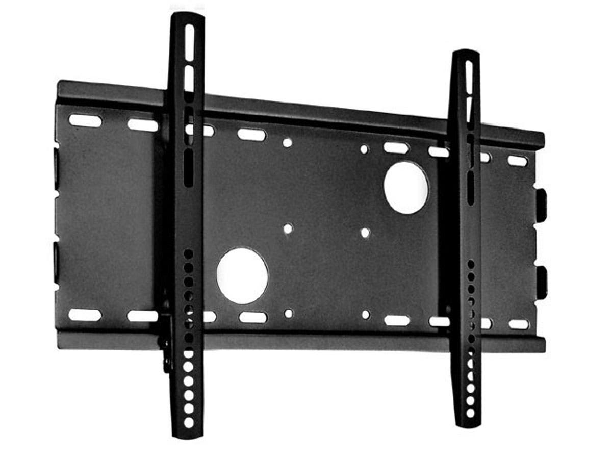 Monoprice Titan Series Fixed TV Wall Mount Bracket For TVs 32in to 55in, Max Weight 165lbs, VESA Patterns Up to 450x250-Large-Image-1