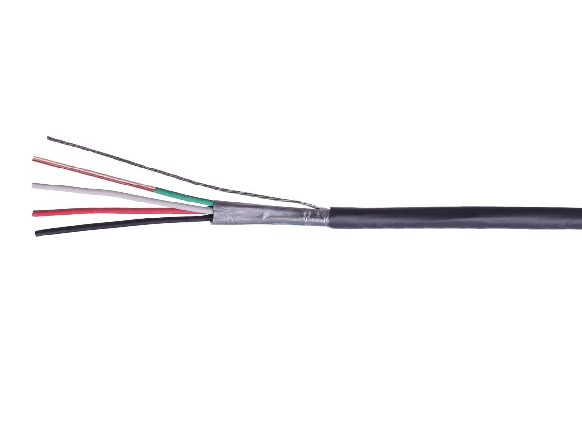 Syston 22/4 Solid Overall Shielded CMP/CL3P, Security and Control Cable, Gray 1000ft Box - main image