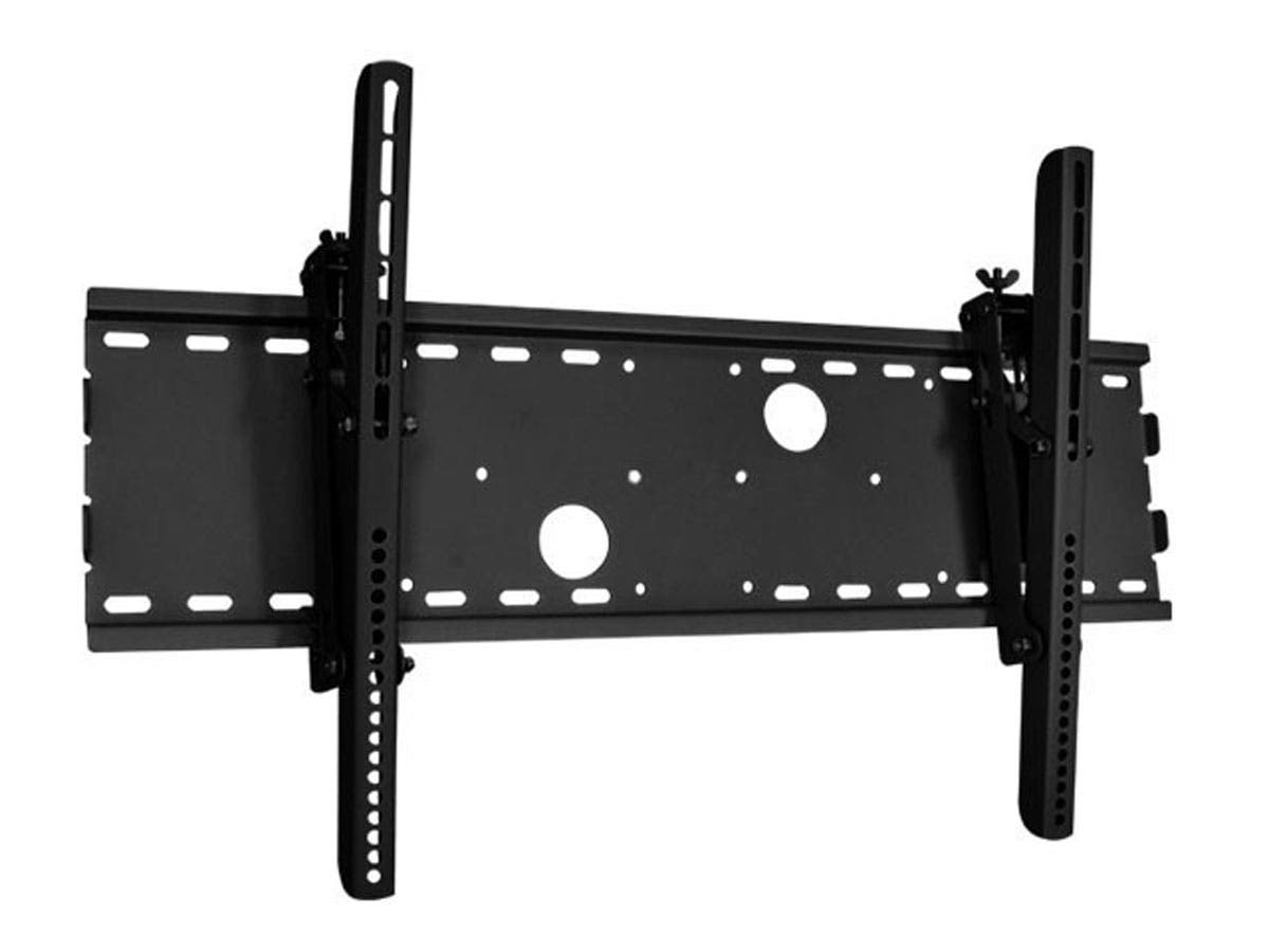 Monoprice Titan Series Tilt TV Wall Mount Bracket - For TVs 37in to 70in, Max Weight 165lbs, Extension Range of 37in to 70in, VESA Patterns Up to 750x450, No Logo, UL Certified-Large-Image-1