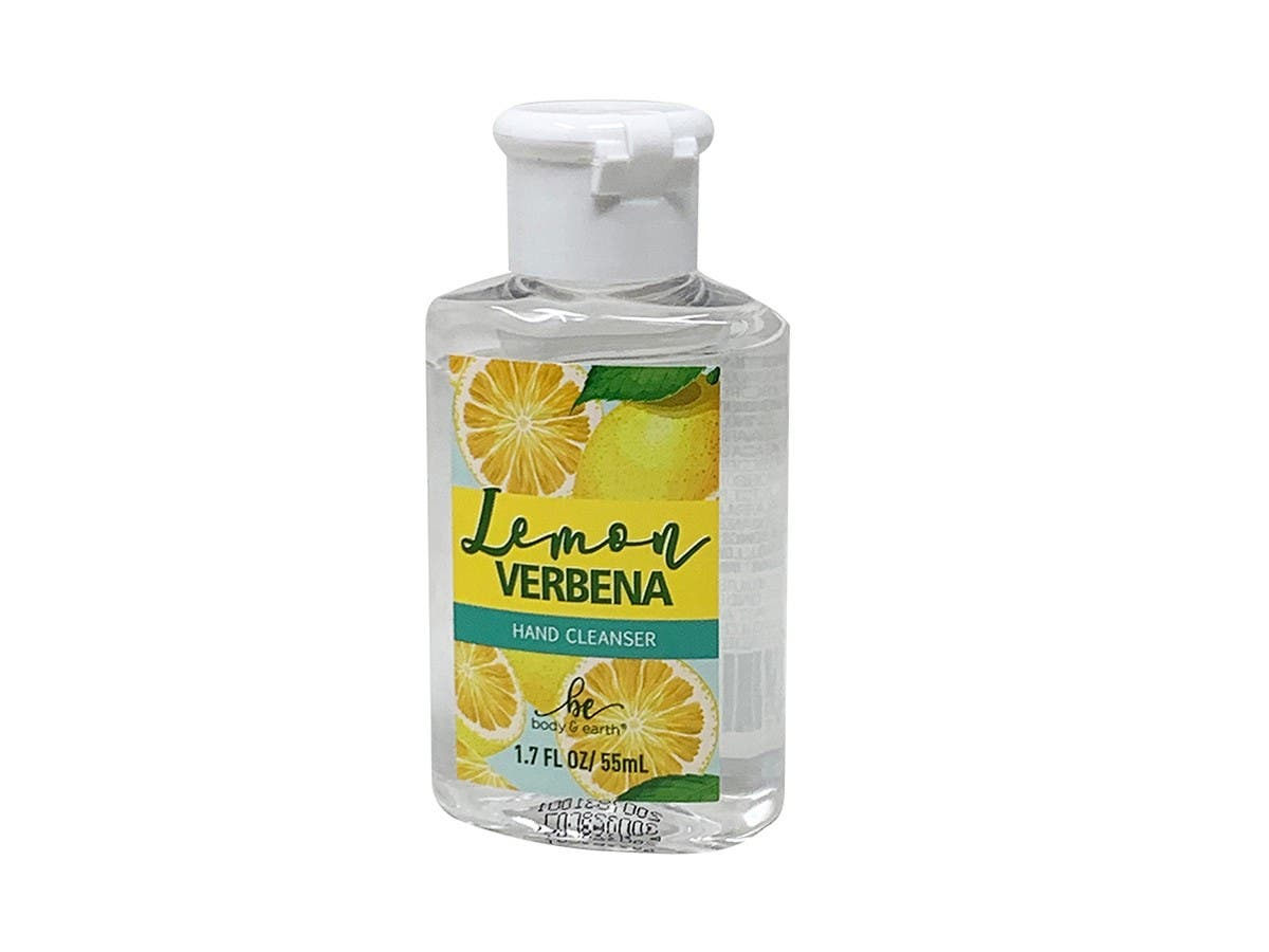 8 pack Hand Sanitizer Gel 1.7oz 55ML 75% Alcohol Lemon Fragrance Hand Cleanser Gel for Home or Office - main image