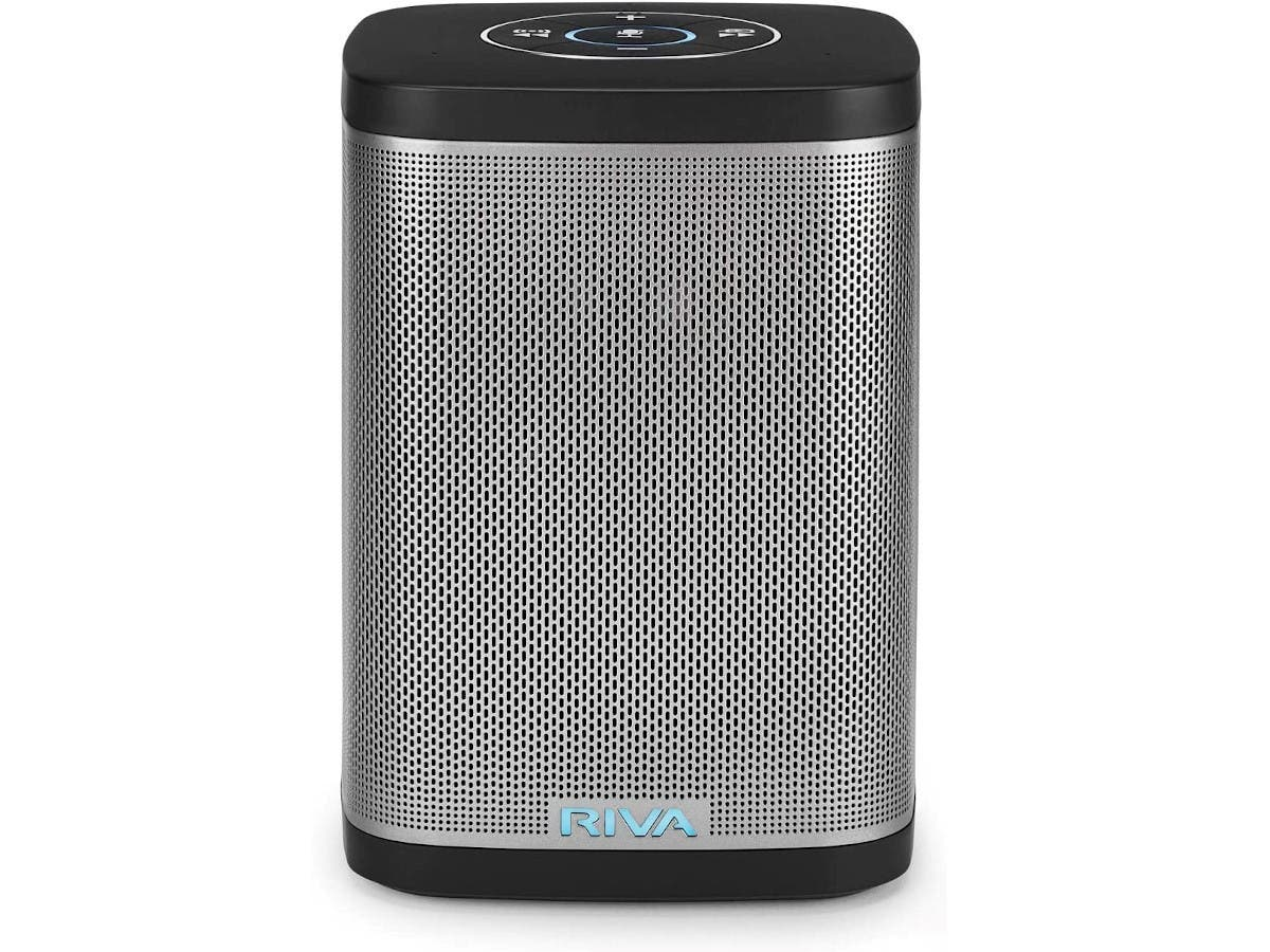 RIVA Concert with Alexa Built-in – Finally A Wireless Smart Speaker WiFi, Airplay and Bluetooth Connectivity (Refurbished) Black - main image