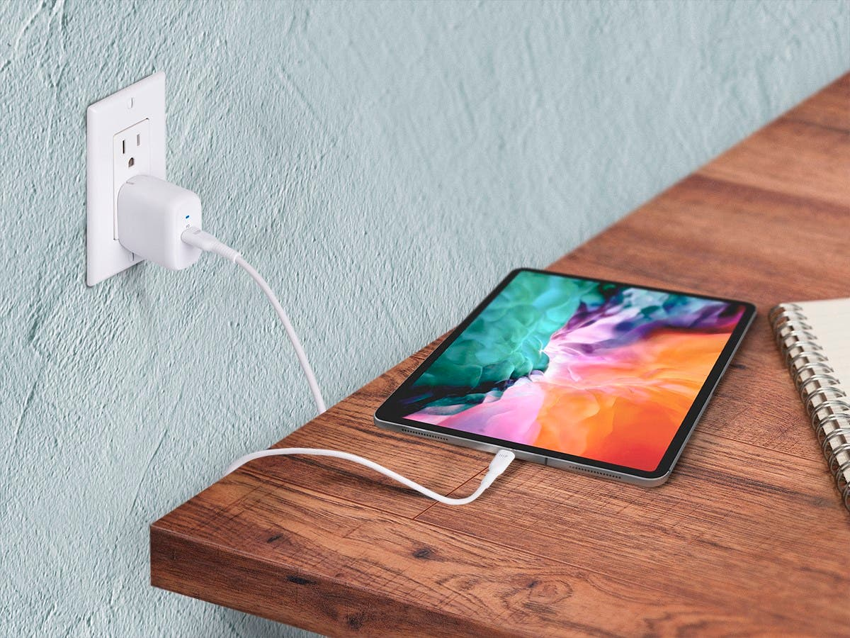 Monoprice iPad Pro Charging Bundle - 30W 1-port PD GaN ...