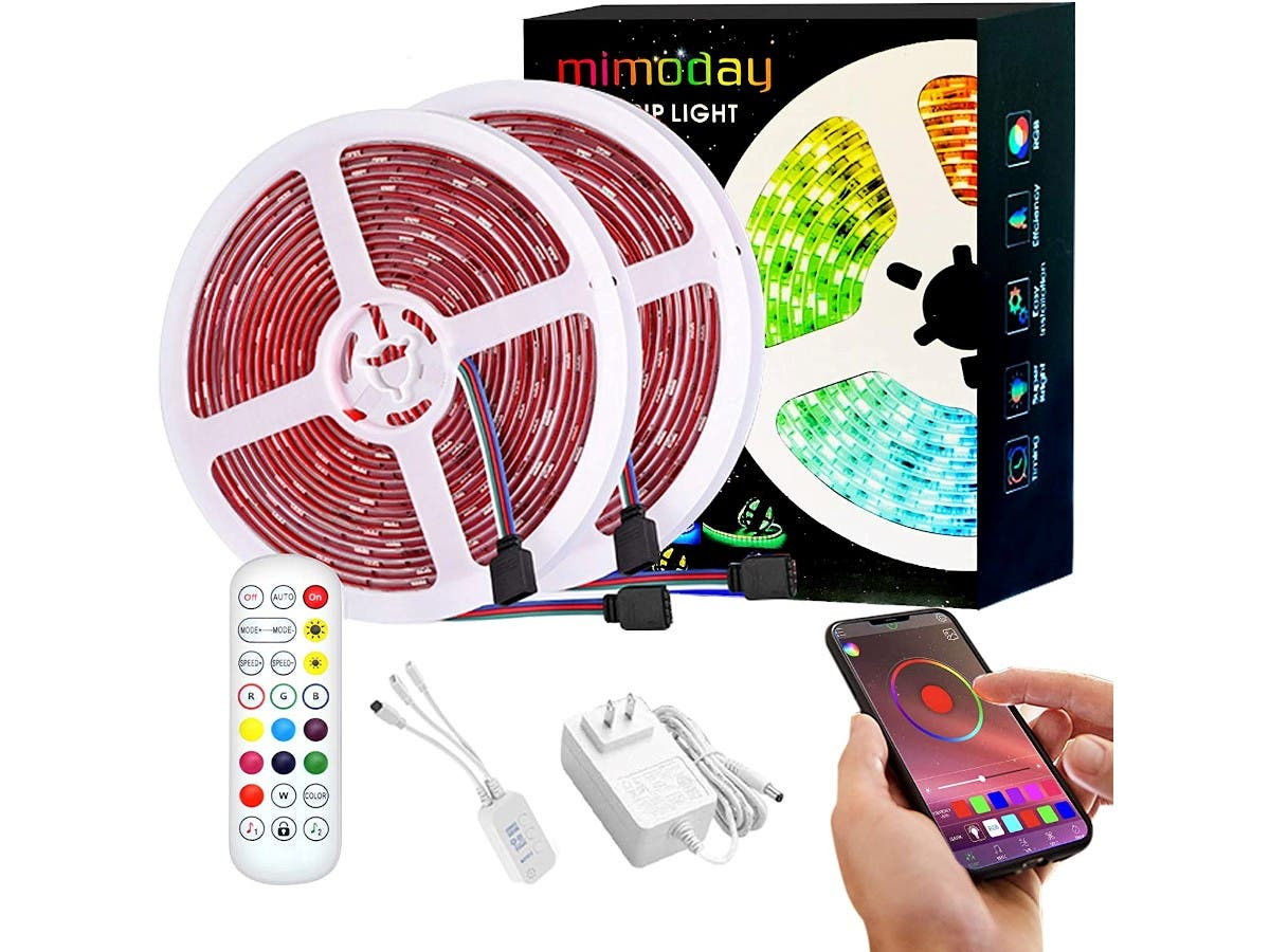 Smart LED Strip Lights with Music Sync  on sale